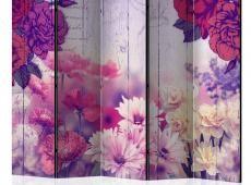 Paraván - Flowers Memories II [Room Dividers]